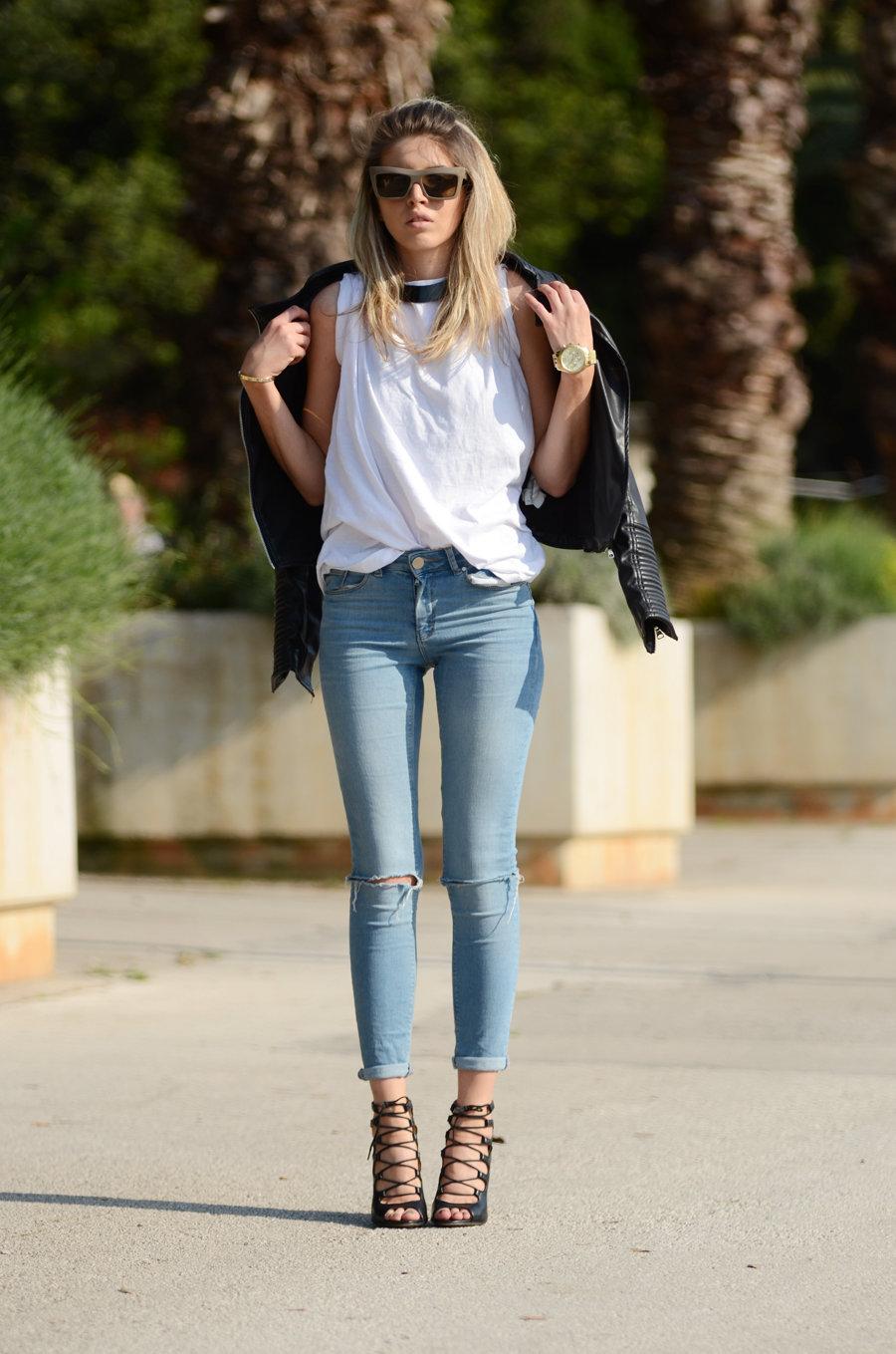 Джинсы скинни женские: фото, с чем носить, кому подходят с высокой талией, посадкой, вышивкой, дырками на коленях, укороченные, модели для полных