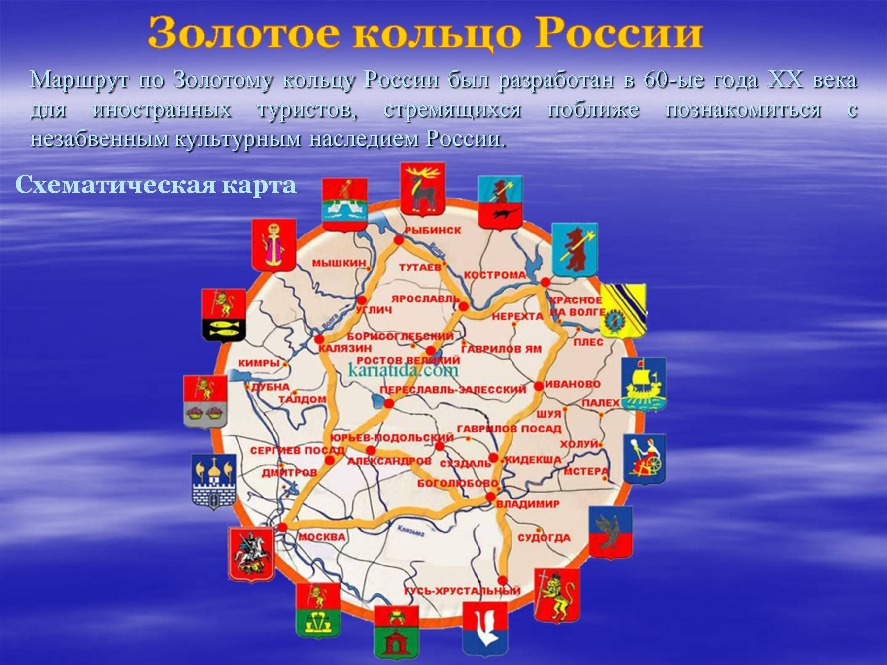 Золотое кольцо россии — города, фото достопримечательностей