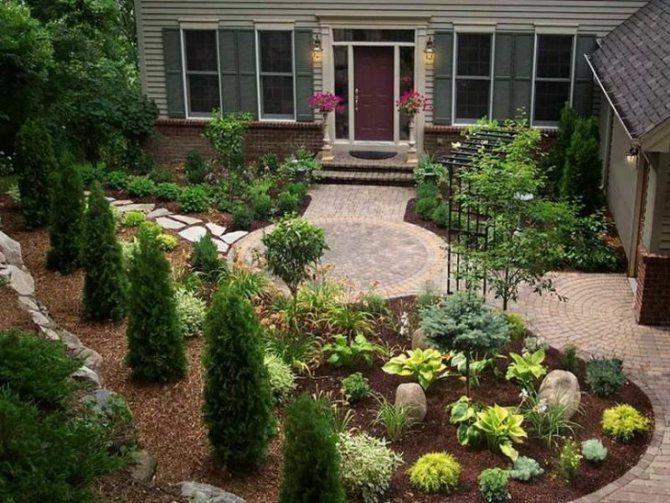 Палисадник - это: как красиво облагородить участок земли у частного дома: лучшие идеи оформления