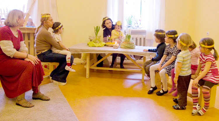 Вальдорфская школа: рассказ мамы     материнство - беременность, роды, питание, воспитание