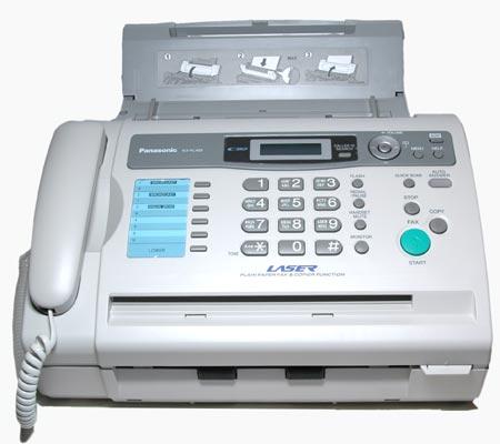 Как подключить факс