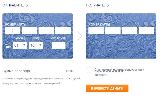 Онлайн-перевод скарты накарту — «альфа-банк»