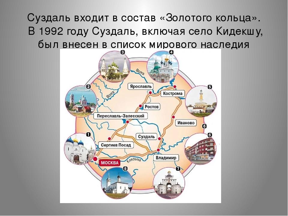 Золотое кольцо россии – его города и основные достопримечательности | megapoisk.com