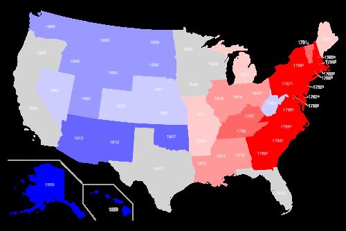 Штаты сша и их столицы