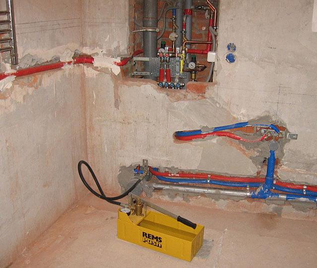 Как производится опрессовка системы отопления своими руками ? квартира и дача ? другое