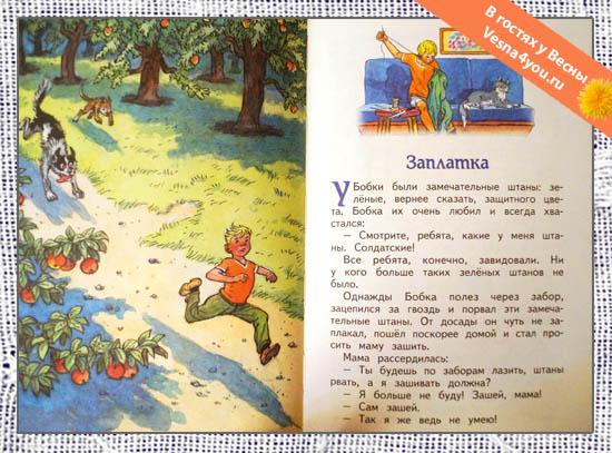 Рассказ заплатка, носов николай - читать для детей онлайн