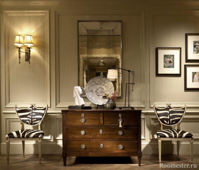 Какие бывают мебельные молдинги, их использование для декора