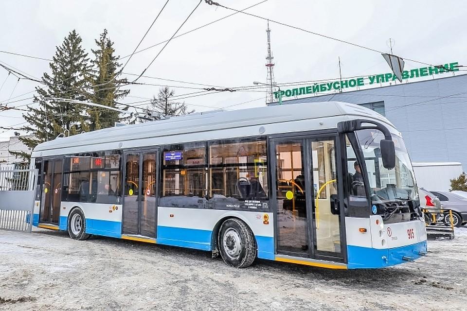 Современный троллейбус: описания устройства и принципа работы