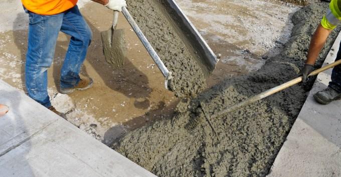 Тощий бетон марок от м100 до м200