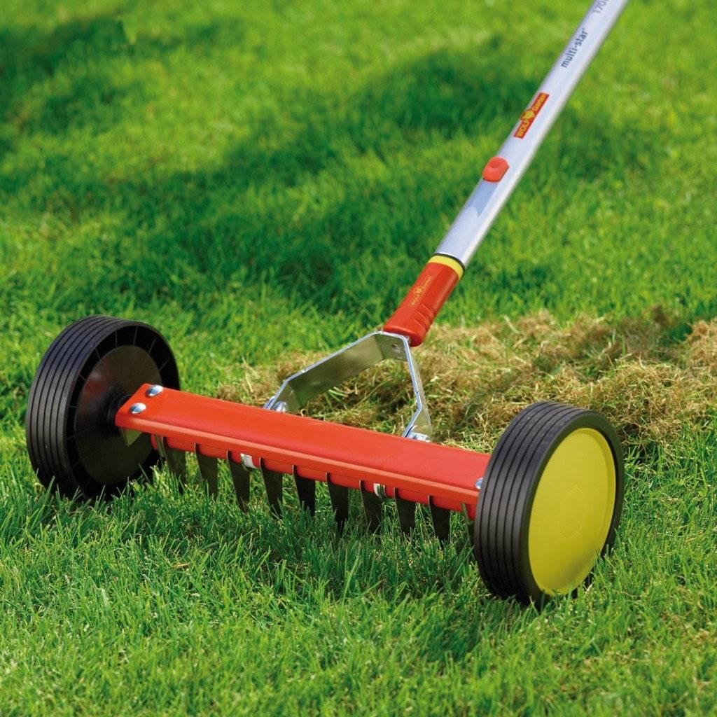 Все о скарификаторах для газона: что это такое и как пользоваться