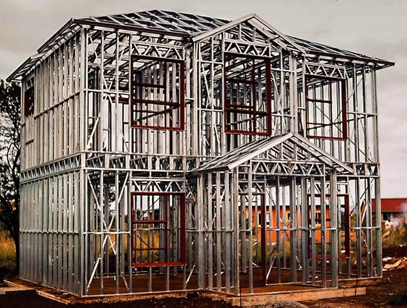 Строительство из лстк - знакомство с технологией