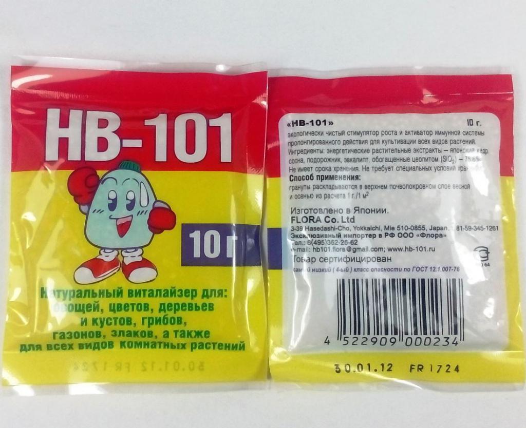 Препарат «hd 101» для стимуляции роста растений [инструкция]