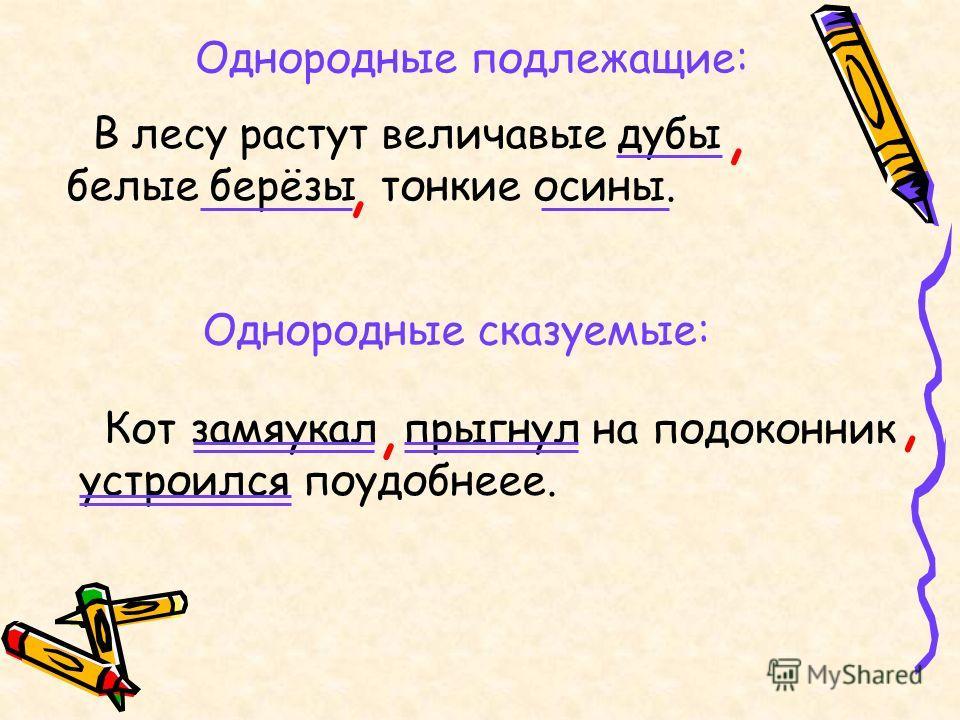 Простое осложненное предложение. однородные члены предложения. однородность сказуемых. форма сказуемого при однородных подлежащих -синтаксис -русский язык