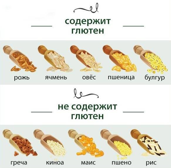 Что такое глютен и в каких продуктах содержится