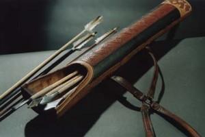 Как сделать колчан для стрел своими руками – фото и описание