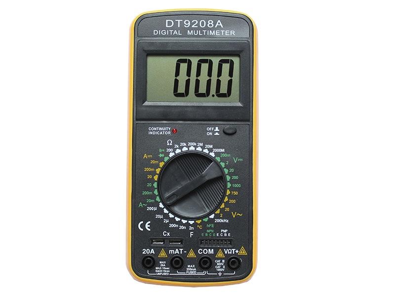 Как пользоваться мультиметром: инструкция для начинающих, как измерить напряжение и ток