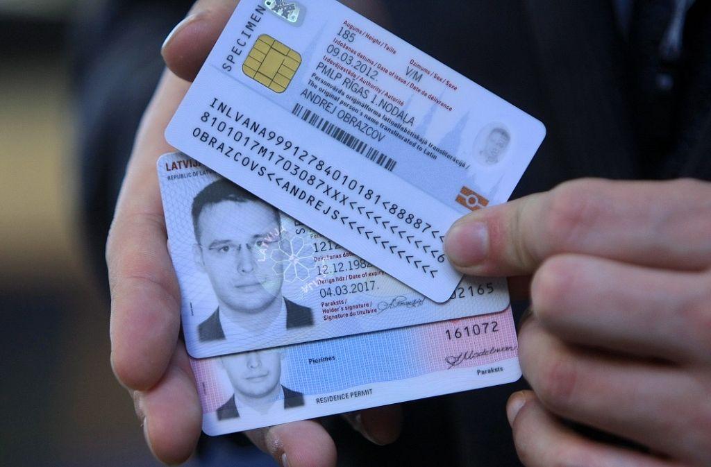 Идентификационные карты — википедия