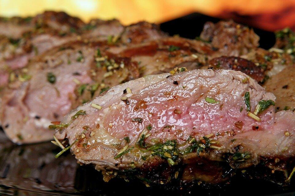 Антрекот из свинины рецепт с фото пошагово и видео - 1000.menu