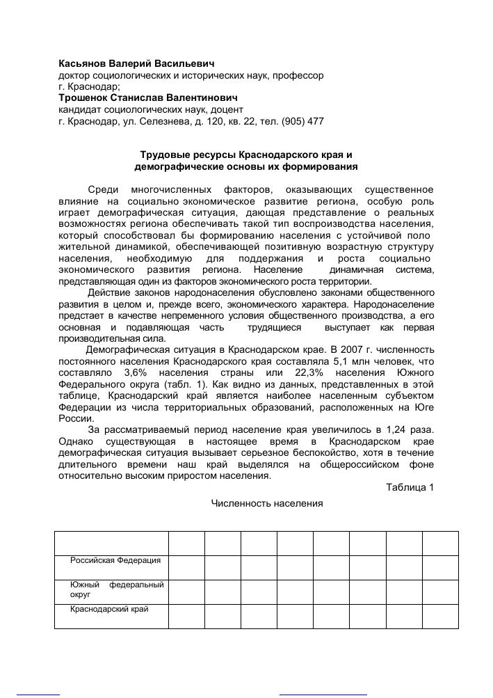 Трудовые ресурсы | контент-платформа pandia.ru