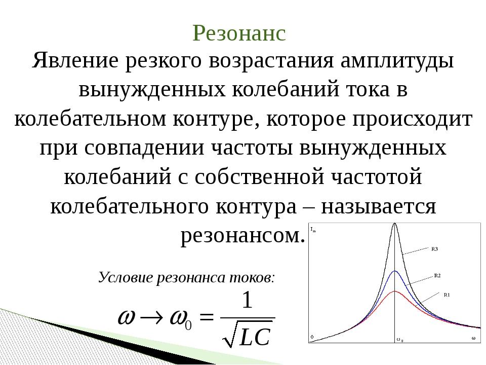 Определение резонанса