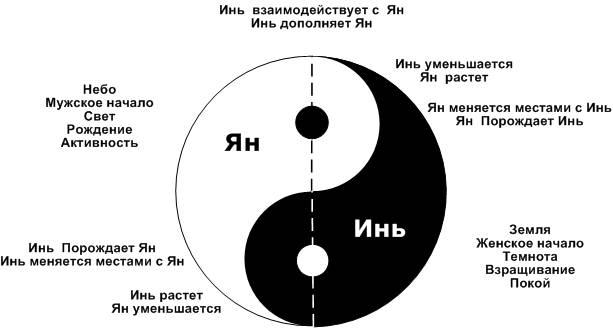 Инь янь: что означает символ, фото