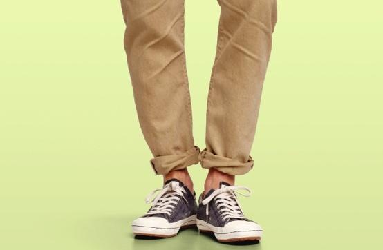 Главный тренд: зачем подворачивать штаны