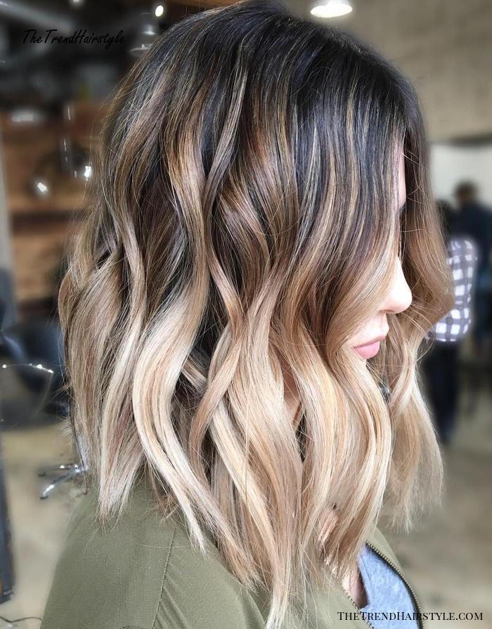 Цветное омбре (40 фото): окрашивание темных и светло-русых волос средней и короткой длины. особенности разноцветного омбре. как сделать его дома?