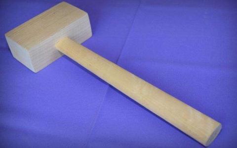 Резиновая киянка. молоток с мягким характером   проинструмент
