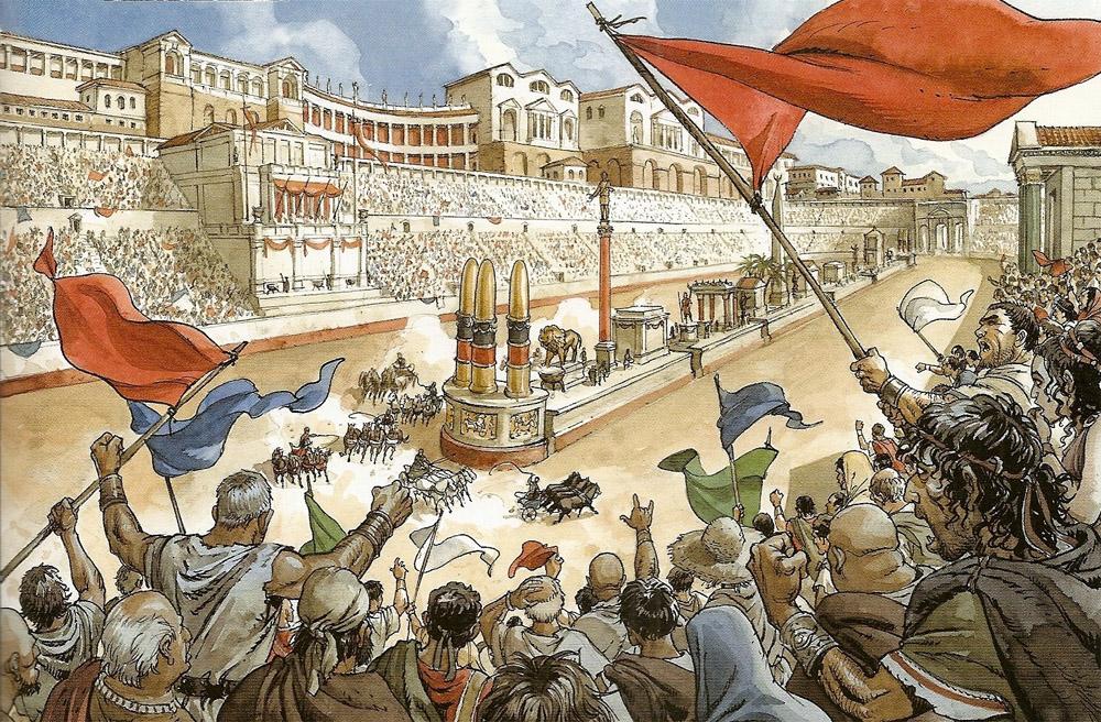 Большой цирк в риме: история, описание, фото