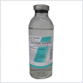 Раствор натрия хлорид, инструкция и применение физраствора