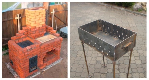 Мангал своими руками - проектирование зоны мангала, установка и уход за мангалом (155 фото)