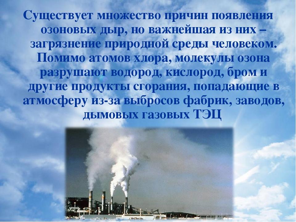 Озоновые дыры: что это такое, проблемы озонового слоя, причины возникновения и как предупредить появление озоновых дыр