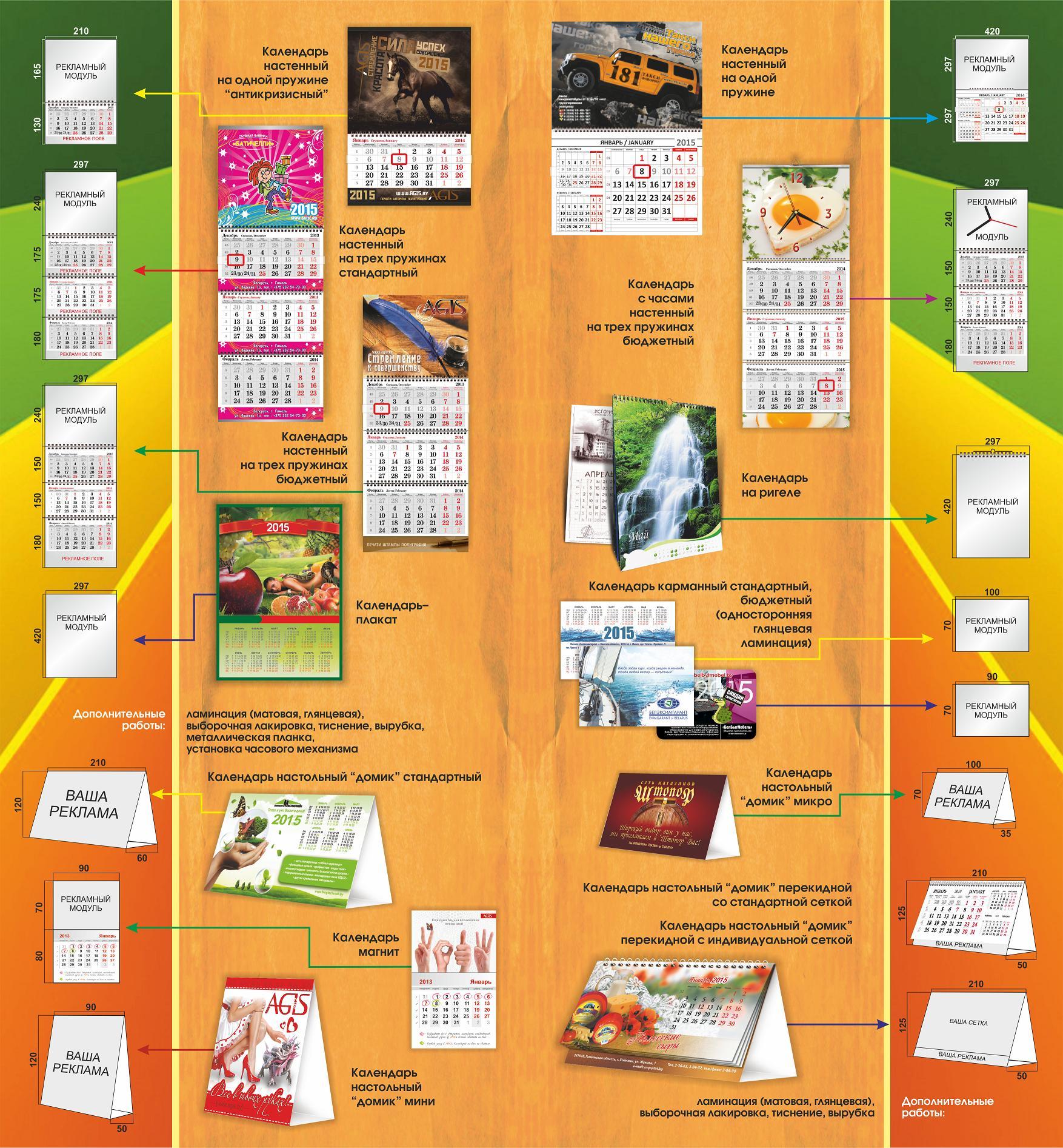 Что такое календарь? история возникновения и виды