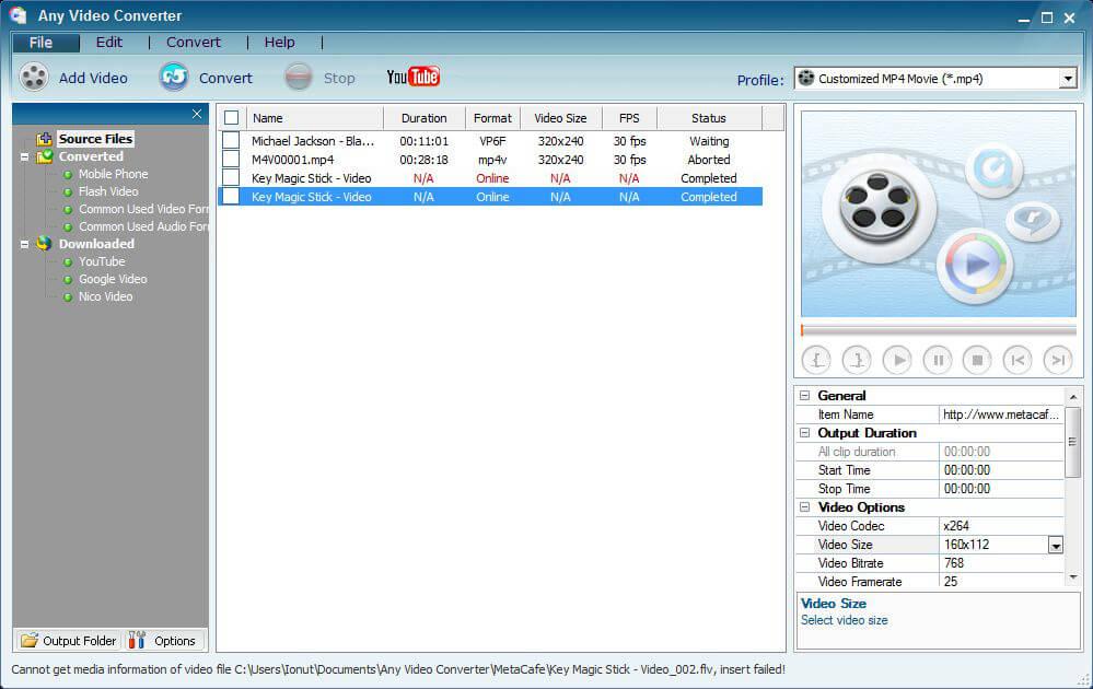 Конвертеры клипов онлайн