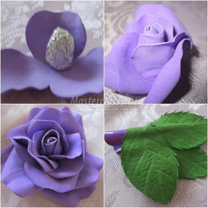 Цветы из фоамирана: лучший мастер-класс с описаниями работы пошагово + фото-обзоры для начинающих с интересными идеями поделки