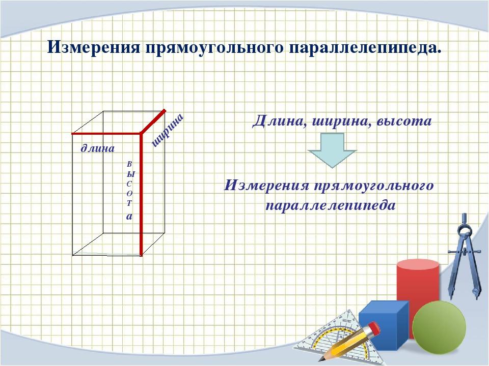 Как правильно пишутся размеры: высота, ширина, длина обозначения латинскими буквами