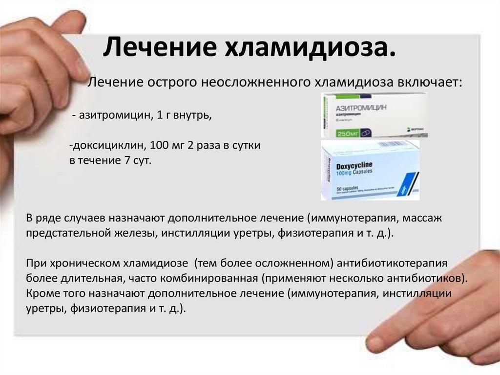 Хламидиоз: причины, симптомы, лечение