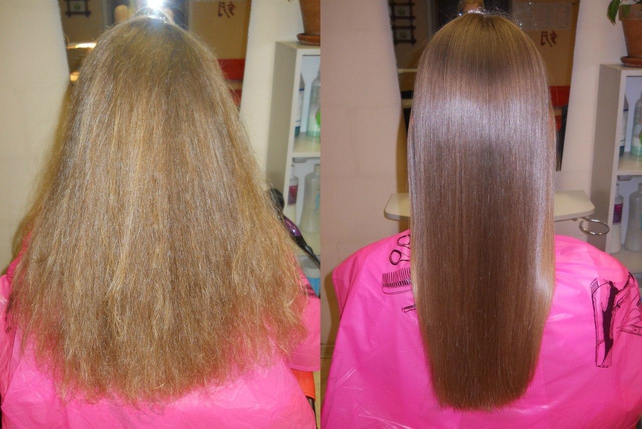 Кератиновое выпрямление волос плюсы и минусы, последствия