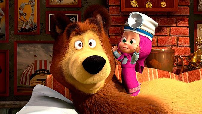 Маша и медведь мультик все серии смотреть онлайн