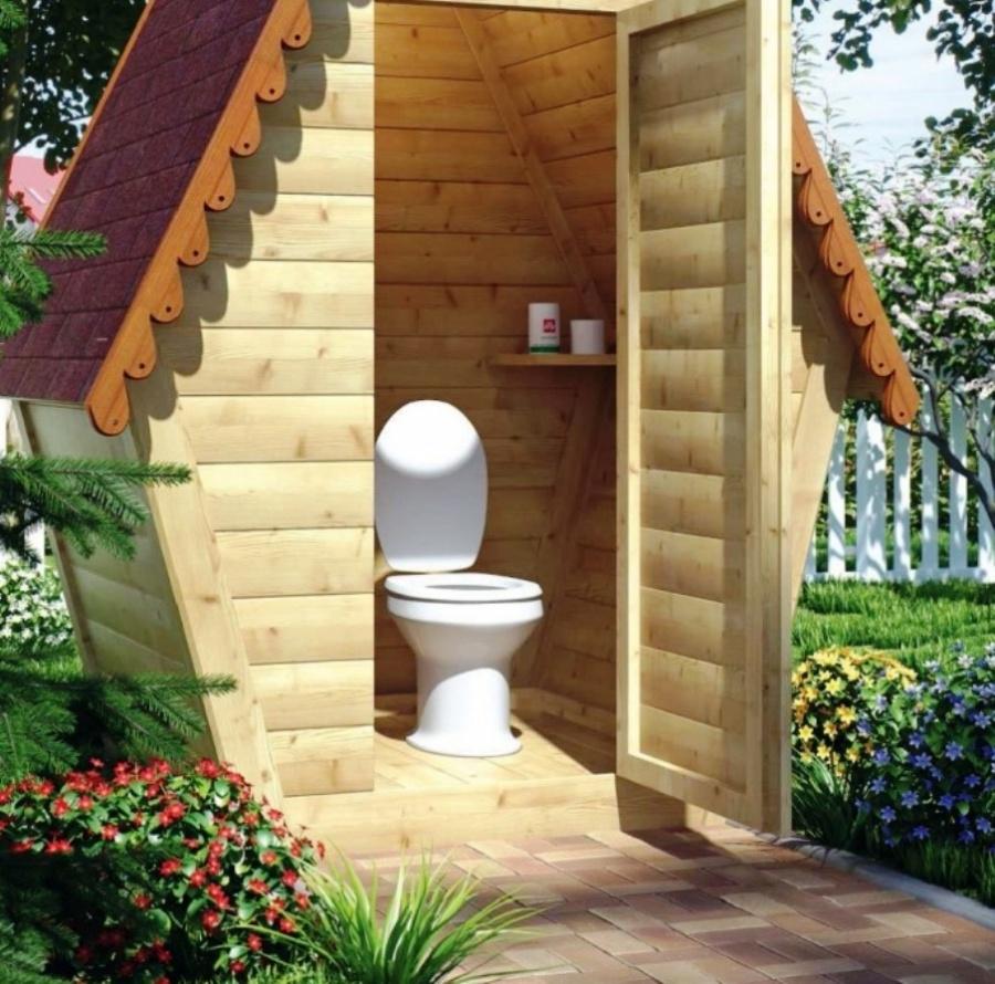 Схема дачного туалета - возможные варианты на примерах