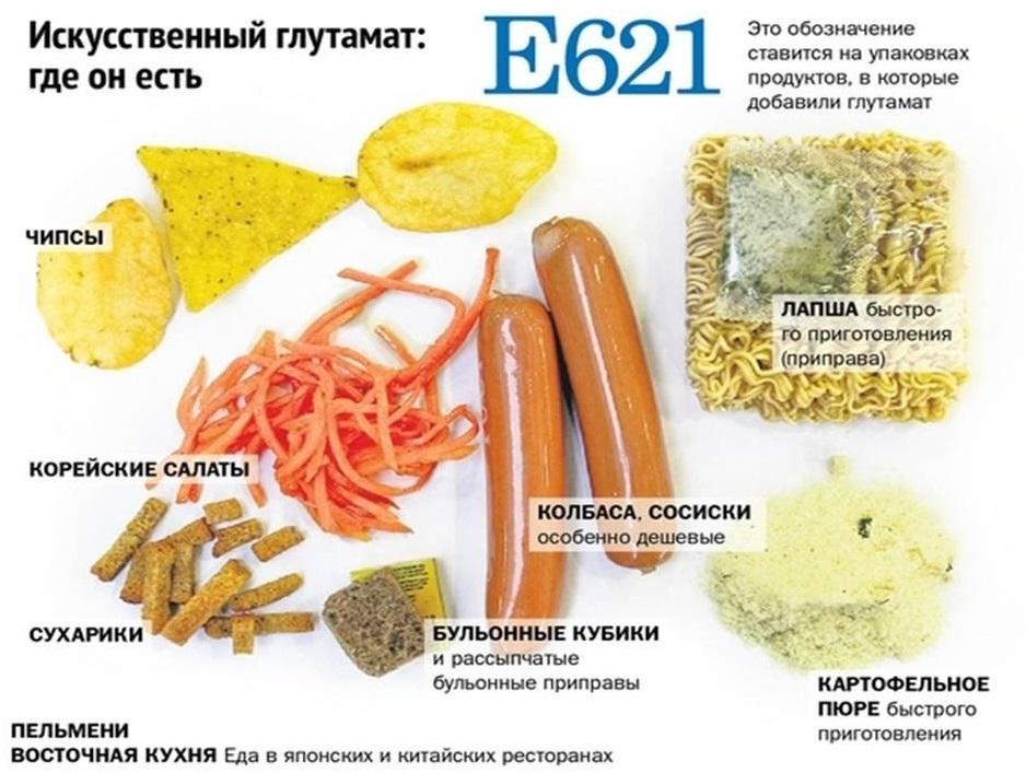 Глутамат натрия вреден или нет, влияние на организм. усилитель вкуса глютамат, чем опасен? польза и вред глутамата натрия | рецепты здоровья
