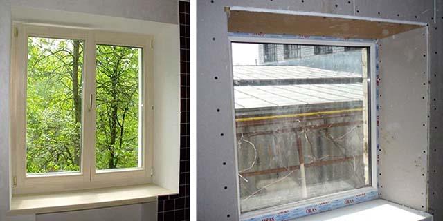 Откосы для пластиковых окон: материалы и способы отделки