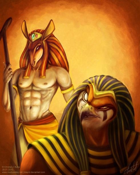 Бог сет в древнеегипетской мифологии
