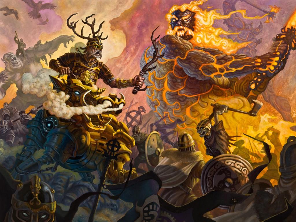 Рагнарёк - гибель богов | freinheim | северный дневник