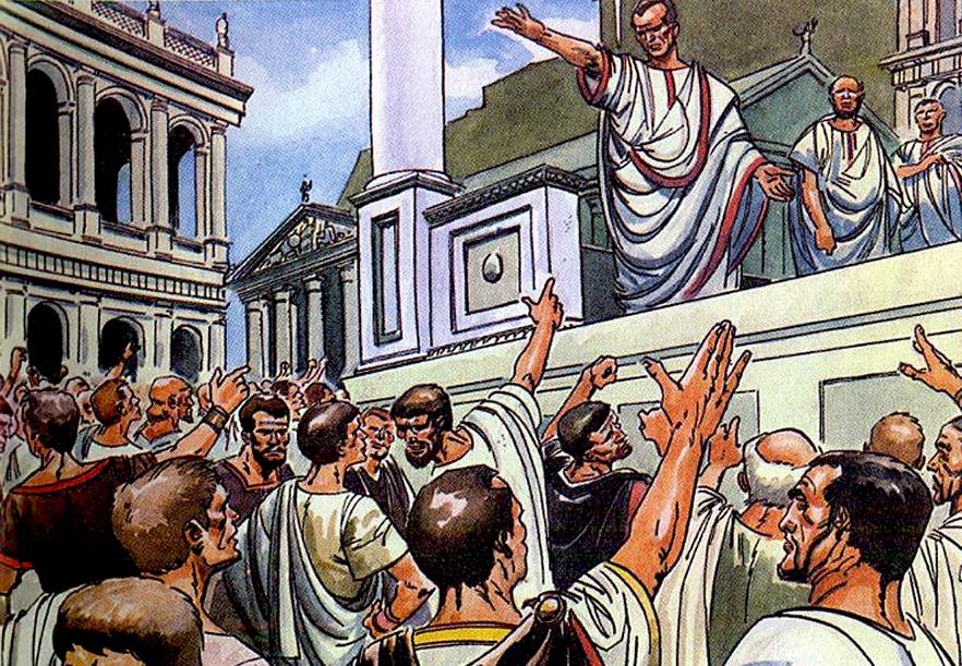Народные трибуны. история рима