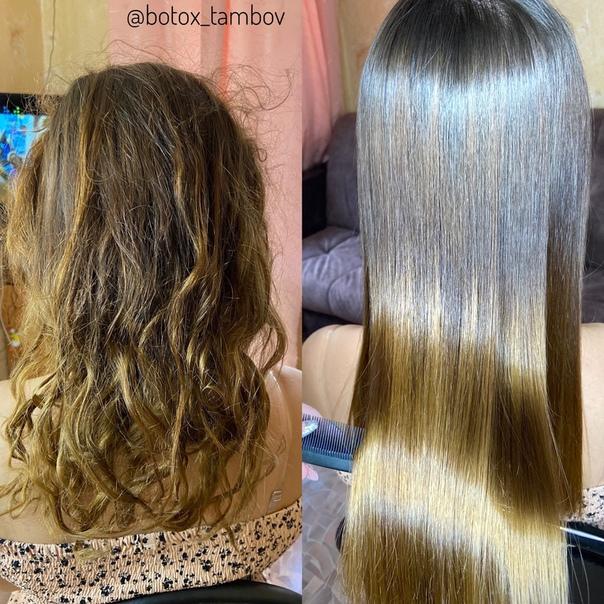 Ботокс для волос - отзывы, фото до и после процедуры