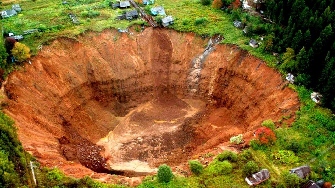 Когда земля уходит из-под ног, или что такое карстовая воронка?