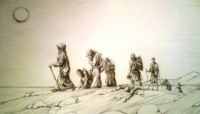 Идут по земле пилигримы. что такое пилигрим? :: syl.ru