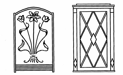 § 27. мозаика с металлическим контуром