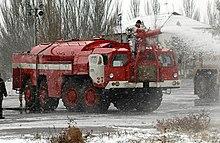 Российские пожарные машины